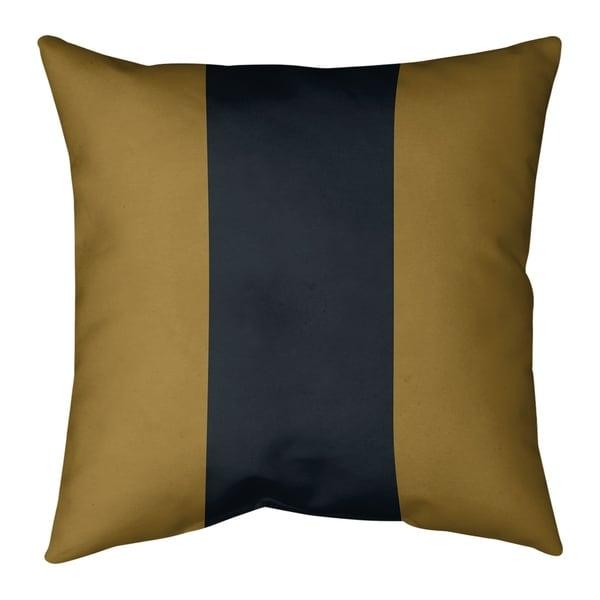 Jacksonville Jacksonville Football Stripes Pillow (w/Rmv Insert)-Spun Poly