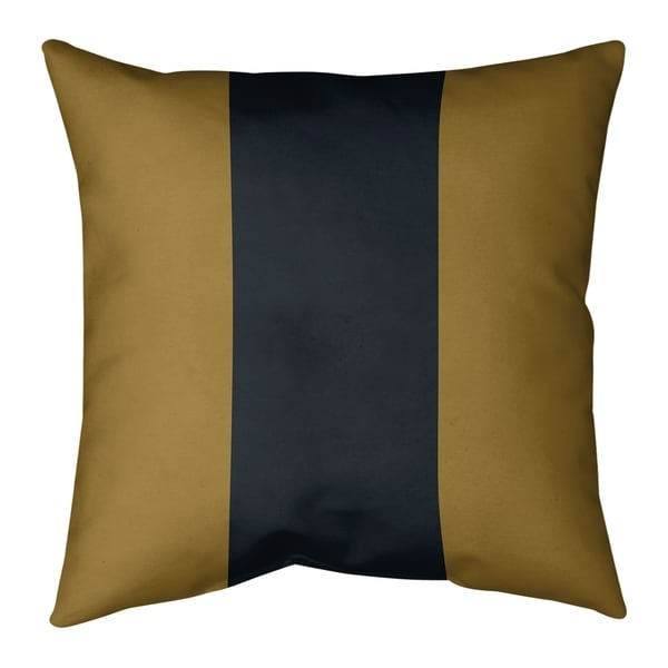 Jacksonville Jacksonville Football Stripes Pillow (Indoor/Outdoor)