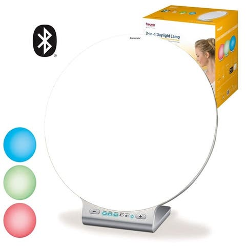 Beurer Light Therapy Lamp, Full Spectrum UV-Free, 10,000 lux LED, Big Surfaced Daylight for Home and Office, TL100