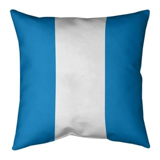 Los Angeles LA Power Football Stripes Floor Pillow - Standard