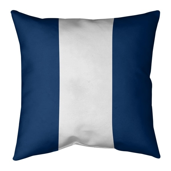 Los Angeles LA Power Football Stripes Pillow-Cotton Twill