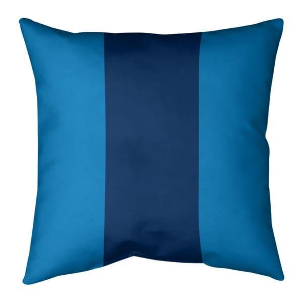 Los Angeles LA Power Football Stripes Pillow (Indoor/Outdoor)