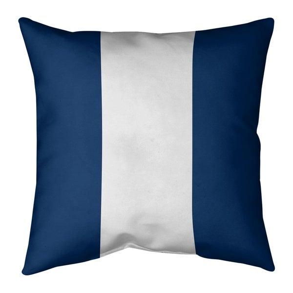 Los Angeles LA Power Football Stripes Floor Pillow - Standard