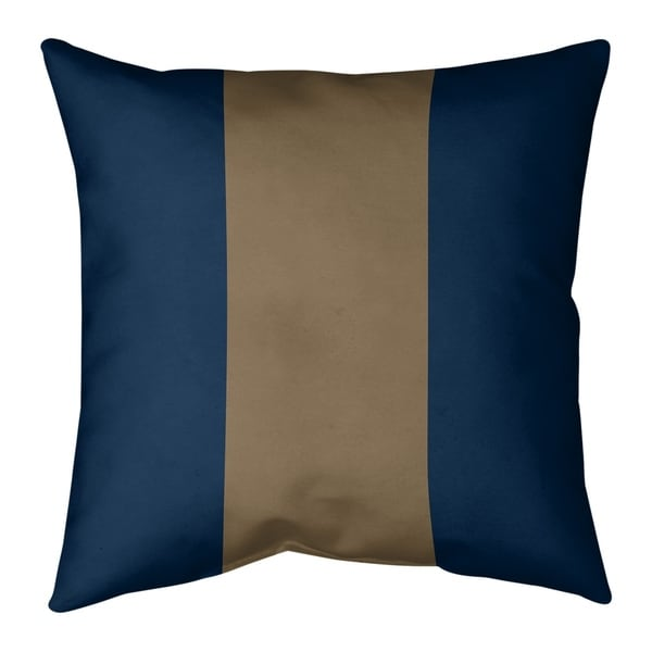 Los Angeles LA Horns Football Stripes Pillow-Cotton Twill
