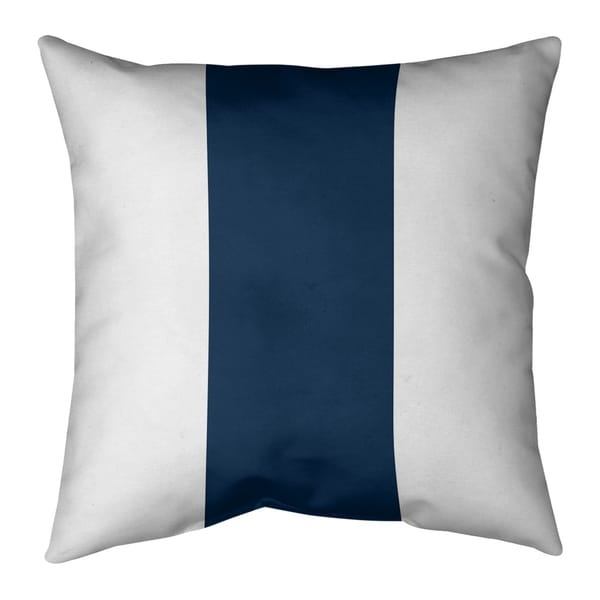 Los Angeles LA Horns Football Stripes Pillow-Faux Suede