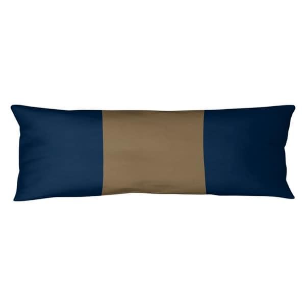 Los Angeles LA Horns Football Stripes Body Pillow (w/Rmv Insert)