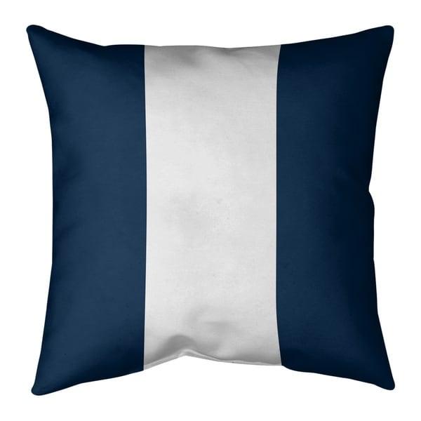 Los Angeles LA Horns Football Stripes Pillow-Faux Linen