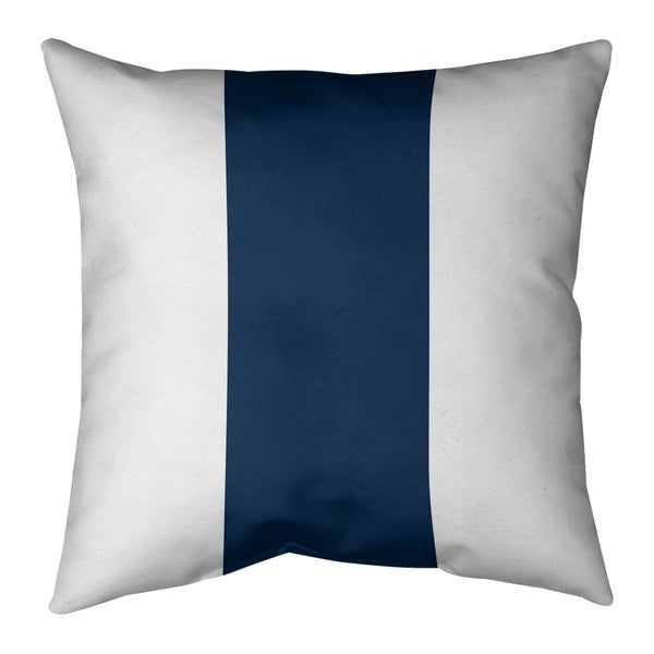 Los Angeles LA Horns Football Stripes Pillow-Spun Polyester