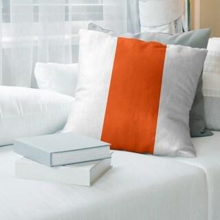 Miami Miami Throwback Football Stripes Floor Pillow - Standard