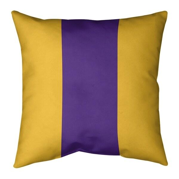Minnesota Minnesota Football Stripes Pillow-Cotton Twill
