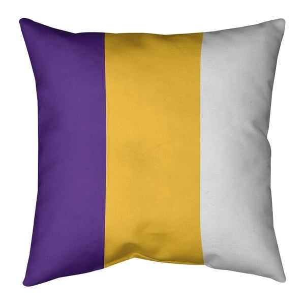 Minnesota Minnesota Football Stripes Floor Pillow - Standard