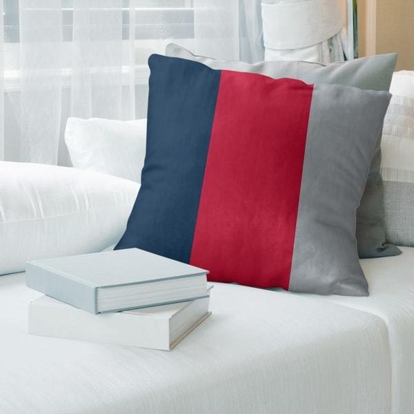 New England New England Football Stripes Floor Pillow - Standard