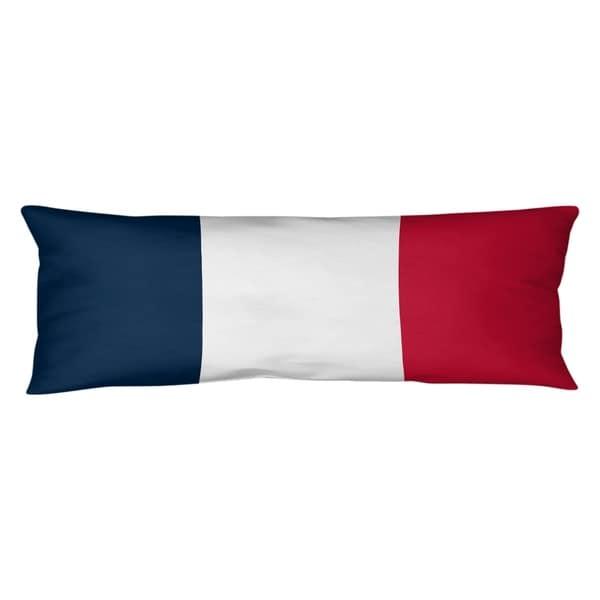 New England New England Football Stripes Body Pillow (w/Rmv Insert)