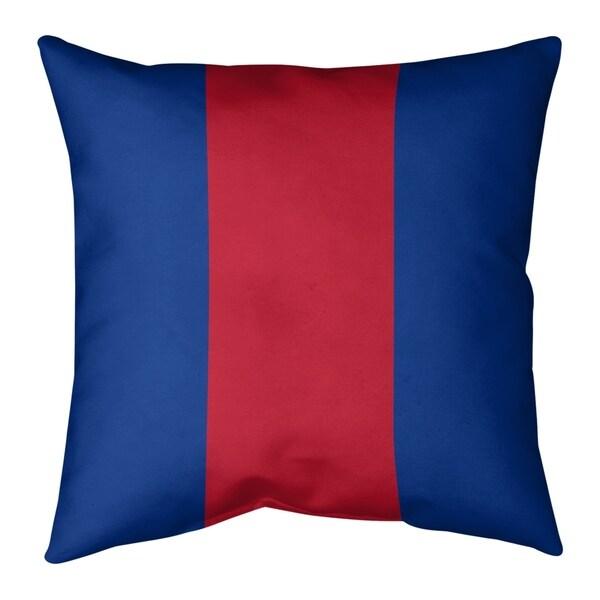 New England New England Throwback Football Stripes Floor Pillow - Standard