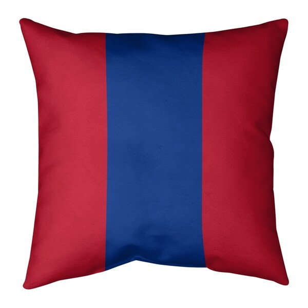 New England New England Throwback Football Stripes Floor Pillow - Standard
