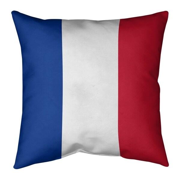 New England New England Throwback Football Stripes Pillow-Cotton Twill