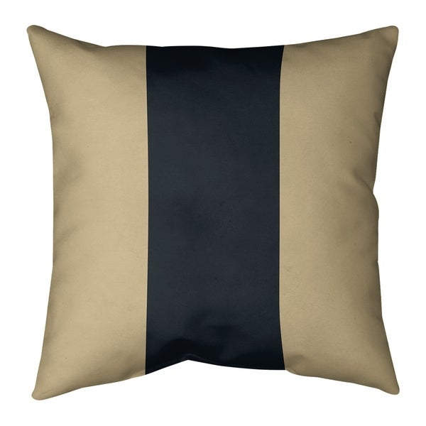 New Orleans New Orleans Football Stripes Pillow-Faux Linen