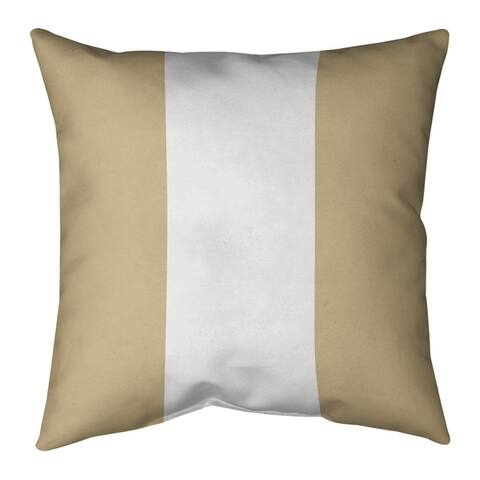 New Orleans New Orleans Football Stripes Floor Pillow - Standard