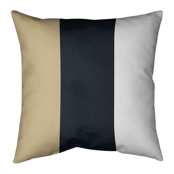 New Orleans New Orleans Football Stripes Pillow-Cotton Twill