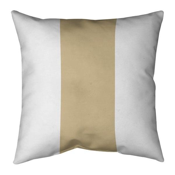 New Orleans New Orleans Football Stripes Pillow (w/Rmv Insert)-Spun Poly