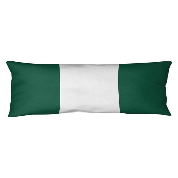 New York New York Fly Football Stripes Body Pillow (w/Rmv Insert)