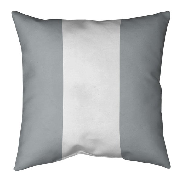 Las Vegas Las Vegas Football Stripes Pillow-Cotton Twill