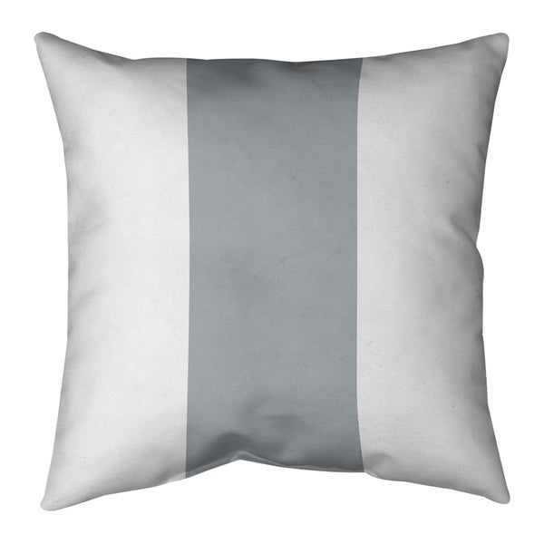 Las Vegas Las Vegas Football Stripes Pillow-Faux Linen