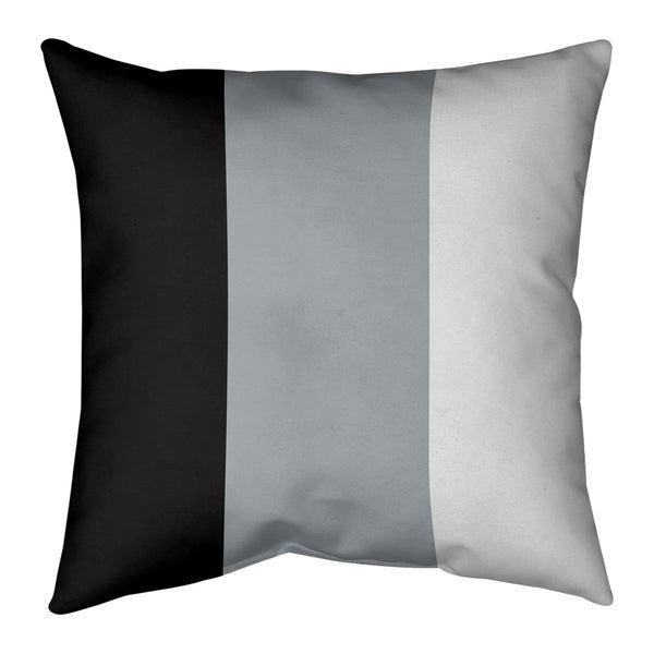 Las Vegas Las Vegas Football Stripes Pillow-Cotton Twill