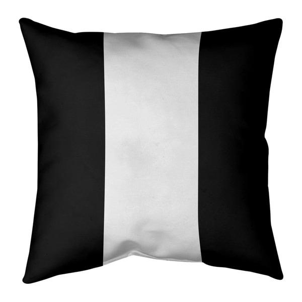Las Vegas Las Vegas Football Stripes Pillow-Faux Linen