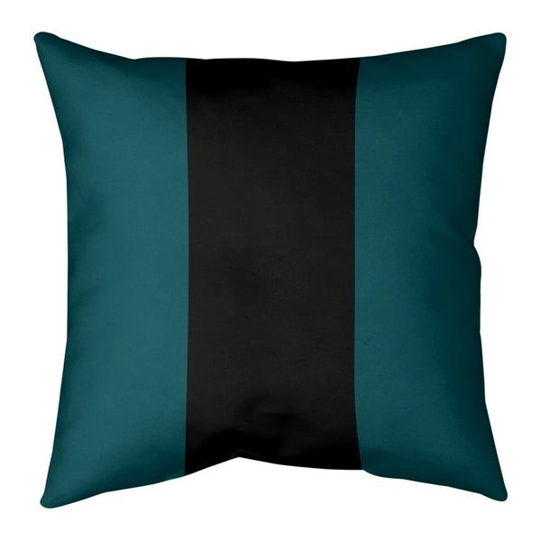 Philadelphia Philadelphia Football Stripes Floor Pillow - Standard
