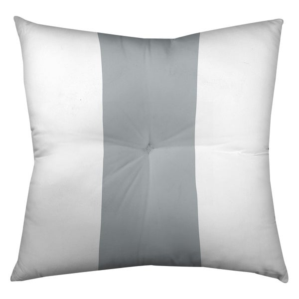 Oakland Oakland Football Stripes Floor Pillow - Square Tufted