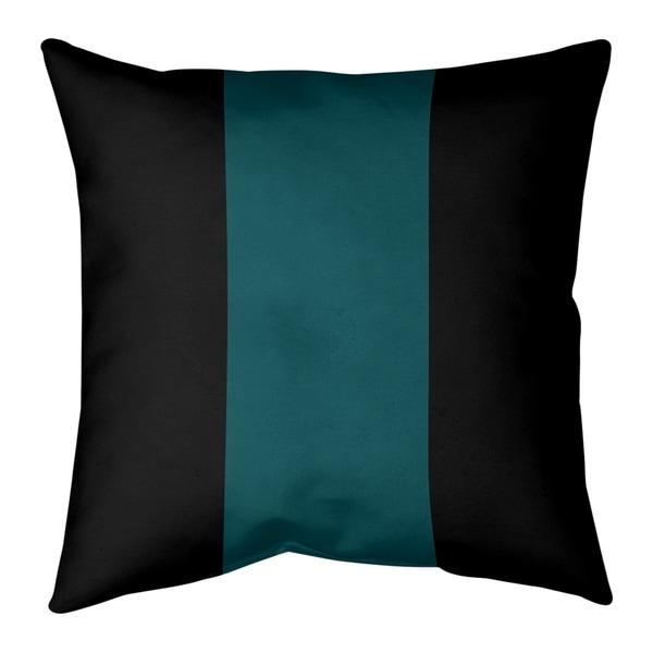 Philadelphia Philadelphia Football Stripes Pillow-Faux Suede