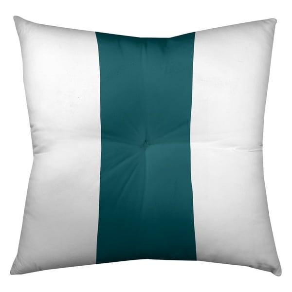 Philadelphia Philadelphia Football Stripes Floor Pillow - Square Tufted