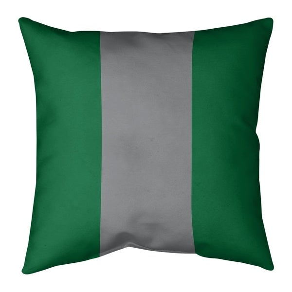 Philadelphia Philadelphia Throwback Football Stripes Pillow (Indoor/Outdoor)