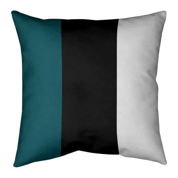 Philadelphia Philadelphia Football Stripes Pillow (Indoor/Outdoor)