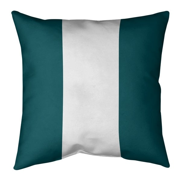 Philadelphia Philadelphia Football Stripes Pillow-Spun Polyester
