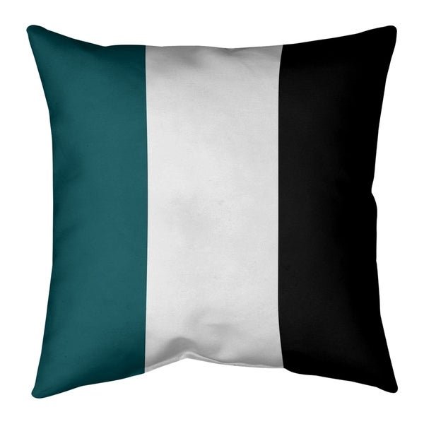 Philadelphia Philadelphia Football Stripes Pillow (Indoor/Outdoor)