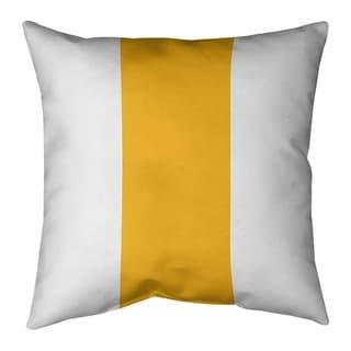 Pittsburgh Pittsburgh Football Stripes Floor Pillow - Standard
