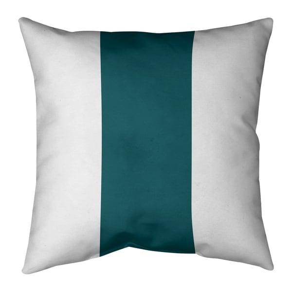 Philadelphia Philadelphia Football Stripes Pillow-Spun Polyester