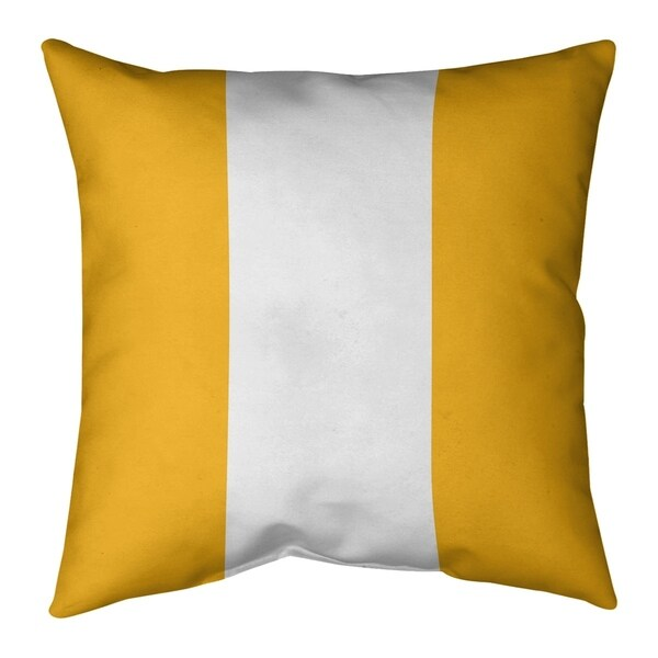 Pittsburgh Pittsburgh Football Stripes Pillow-Cotton Twill