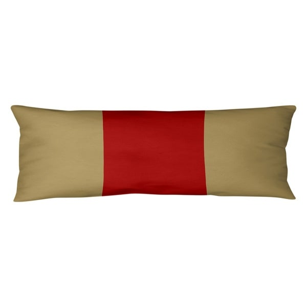 San Francisco San Francisco Football Stripes Body Pillow (w/Rmv Insert)