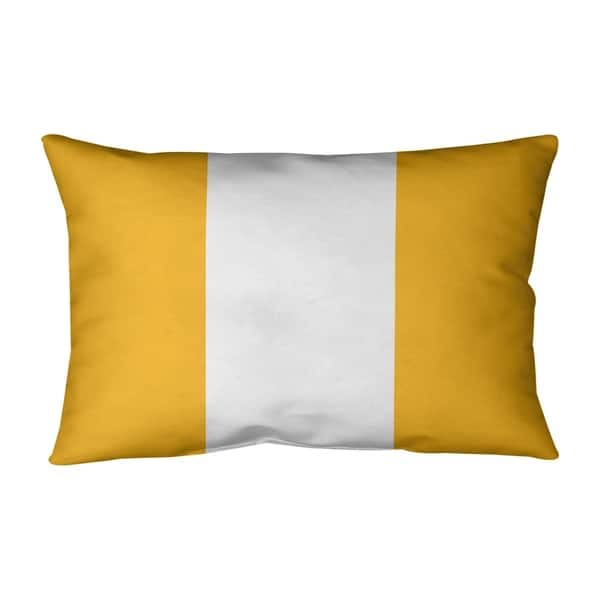 Pittsburgh Pittsburgh Football Stripes Pillow Indoor Outdoor Overstock 30285693