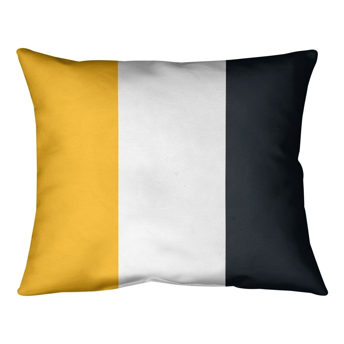 Pittsburgh Pittsburgh Football Stripes Pillow Spun Polyester Overstock 30285707