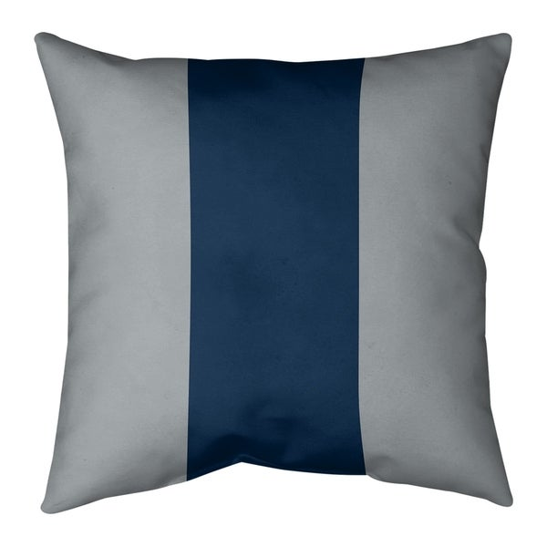 Seattle Seattle Football Stripes Pillow-Cotton Twill