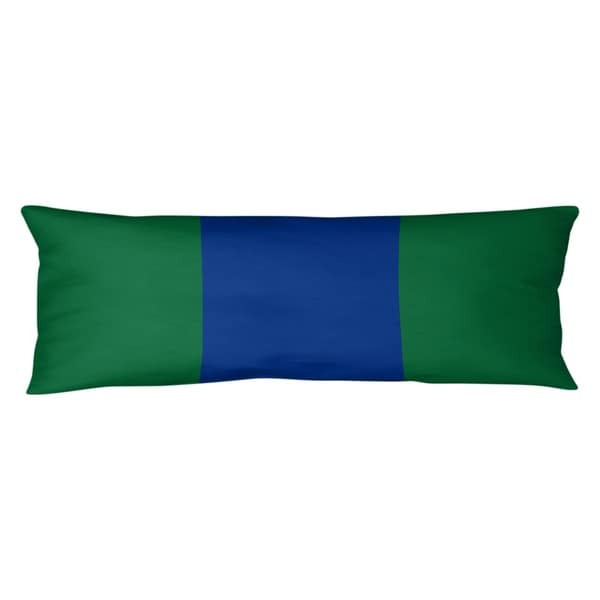 Seattle Seattle Throwback Football Stripes Body Pillow (w/Rmv Insert)