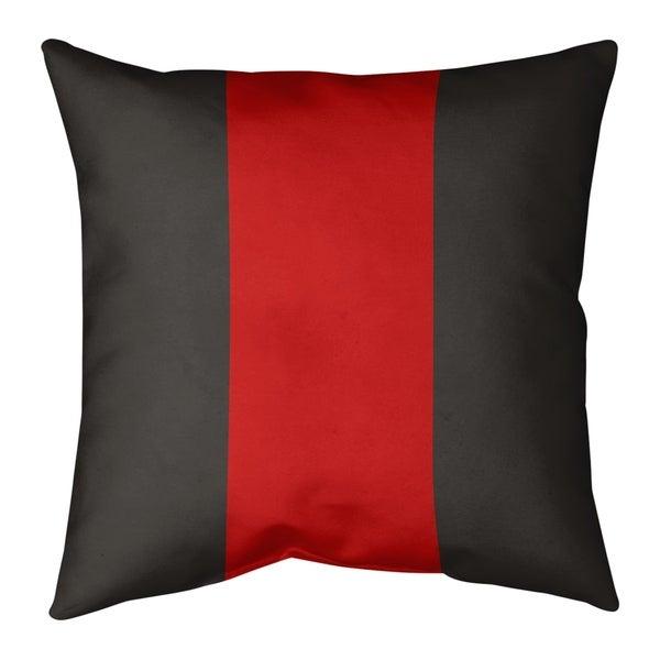 Tampa Bay Tampa Bay Football Stripes Pillow (w/Rmv Insert)-Spun Poly