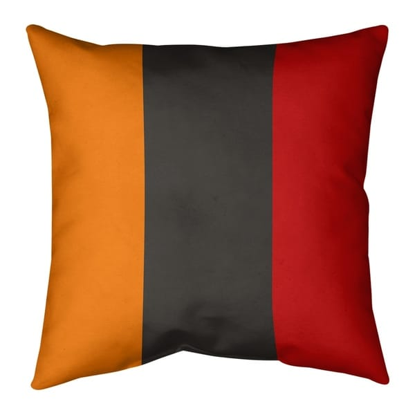 Tampa Bay Tampa Bay Football Stripes Floor Pillow - Standard