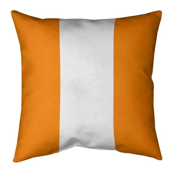 Tampa Bay Tampa Bay Throwback Football Stripes Pillow-Spun Polyester