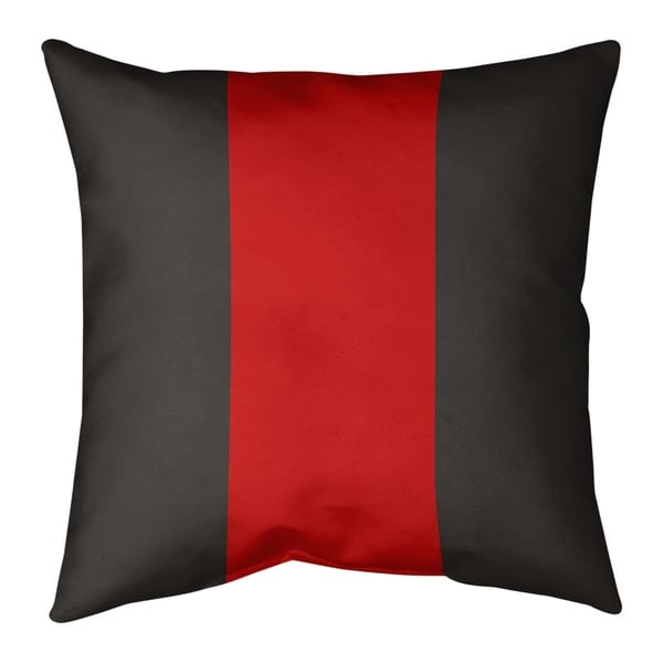 Tampa Bay Tampa Bay Football Stripes Pillow (w/Rmv Insert)-Spun Poly
