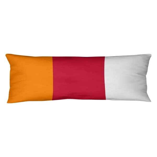 Tampa Bay Tampa Bay Throwback Football Stripes Body Pillow (w/Rmv Insert)